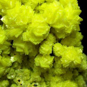 mineral autunita,minerales autunita