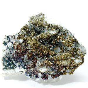 minerales calcopirita