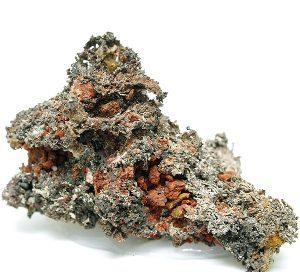 Kongbergita mineral