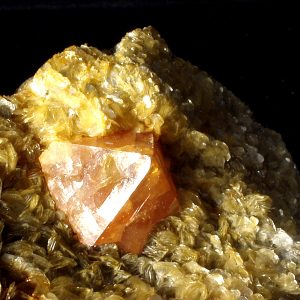 Scheelita mineral